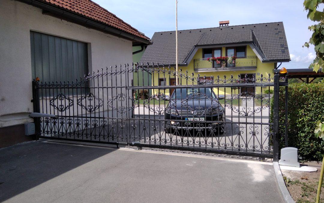 Avtomatizacija drsnih in enokrilnih vrat